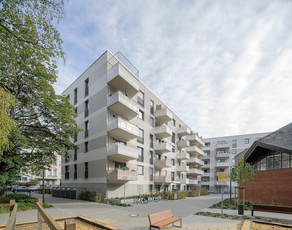 Wohnanlage Holsteinstraße